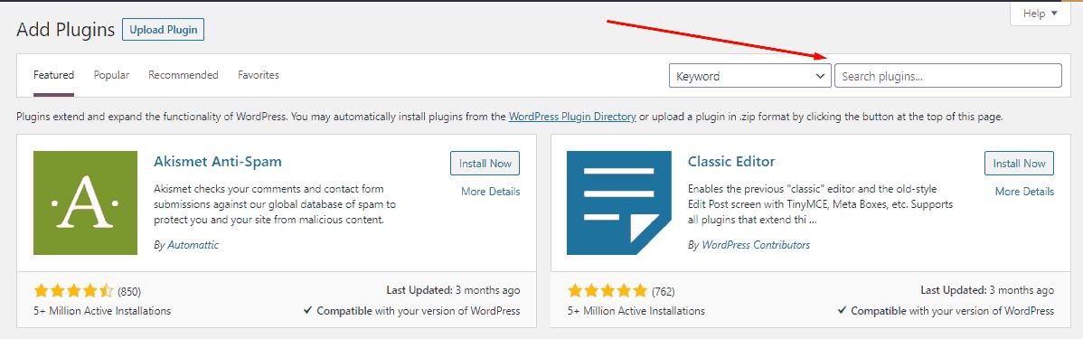 cara instal plugin wordpress dari direktori resmi