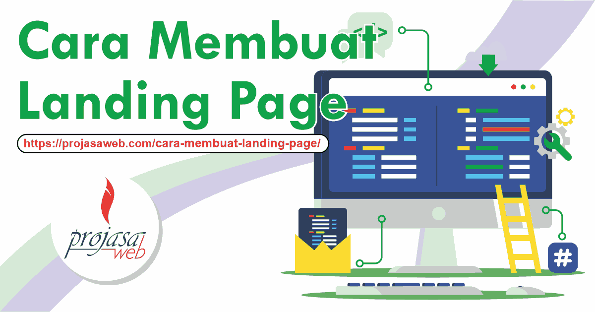 cara membuat landing page