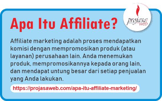 apa itu affiliate marketing pengertian