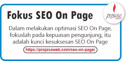 fokus seo on page