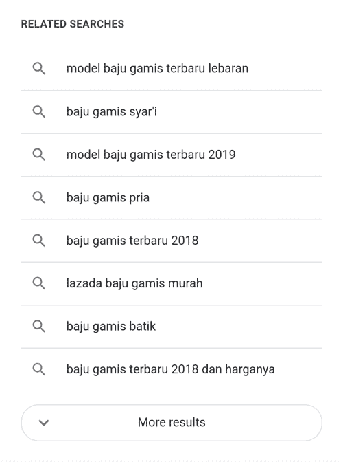 keyword suggestion saran kata kunci