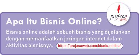 pengertian bisnis online