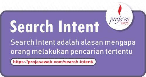 apa itu search intent