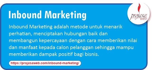 apa itu inbound marketing