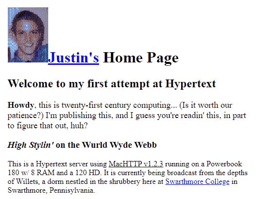 apa itu blogger blog pertama di dunia