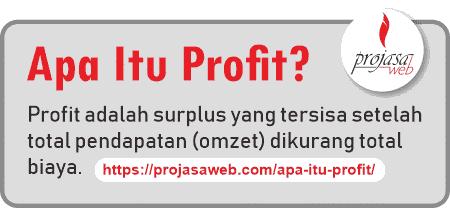 apa itu profit pengertian profit
