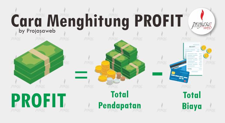 cara menghitung profit