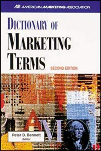 pengertian manajemen pemasaran buku dictionary of marketing terms