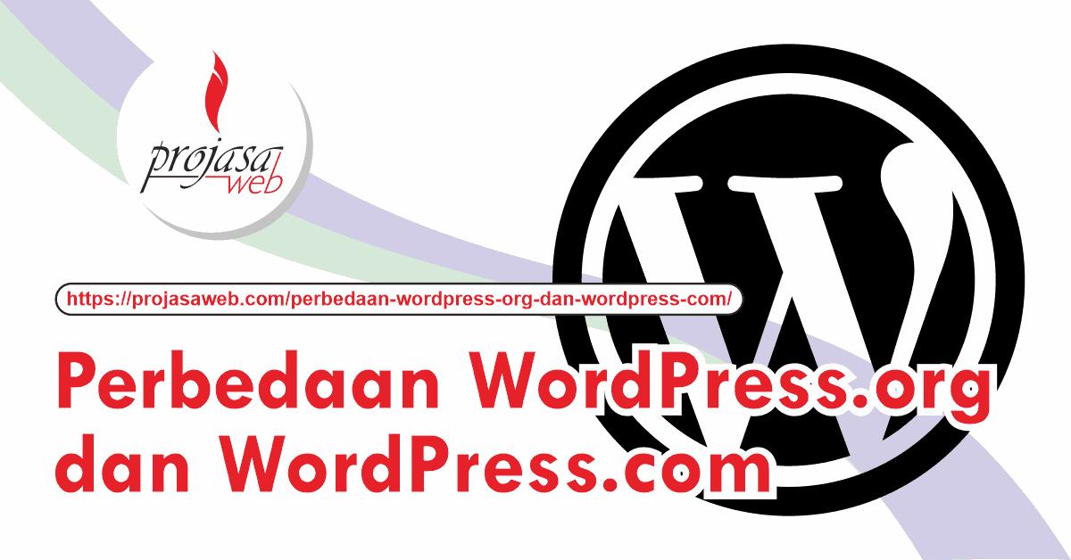 perbedaan wordpress org dan wordpress com