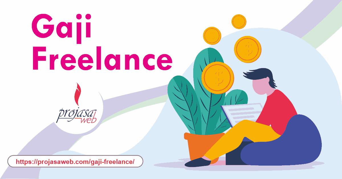 gaji freelance
