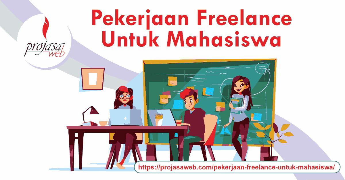 pekerjaan freelance untuk mahasiswa