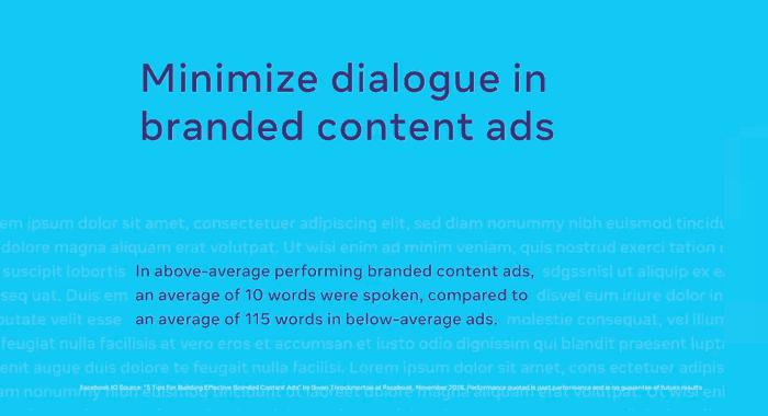 optimasi facebook ads branded content