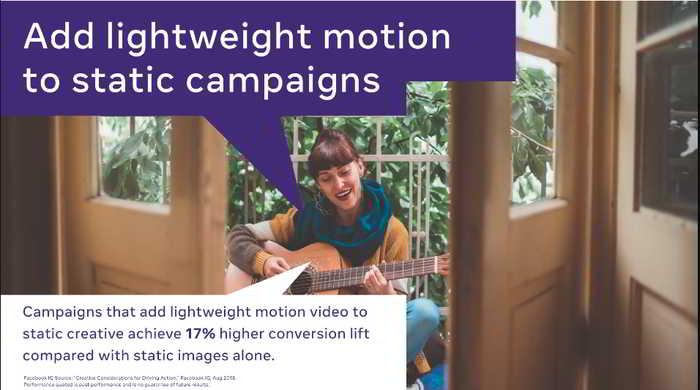 optimasi facebook ads dengan motion