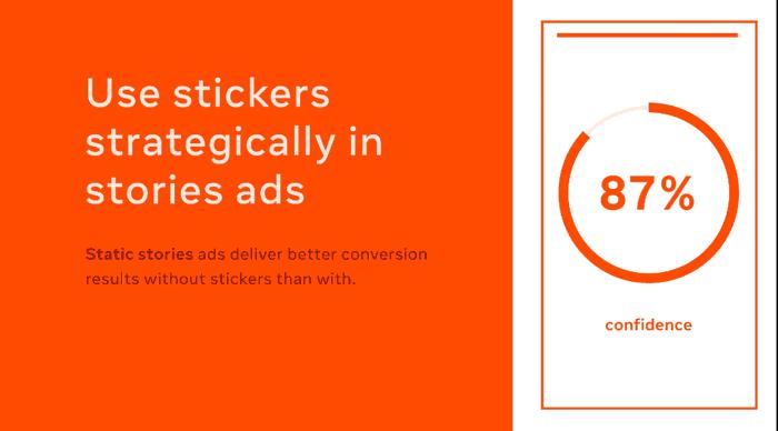 optimasi facebook ads dengan stiker
