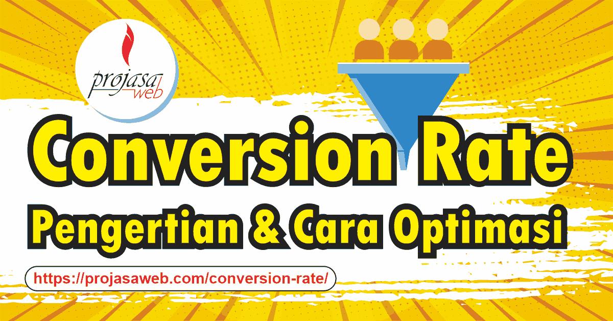 apa itu conversion rate