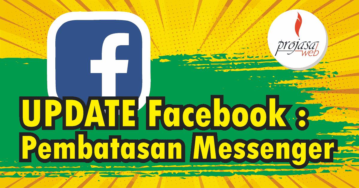 facebook update pembatasan pesan messanger image