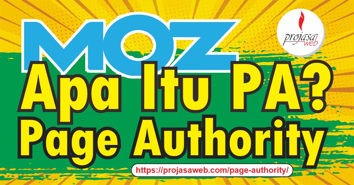 apa itu page authority