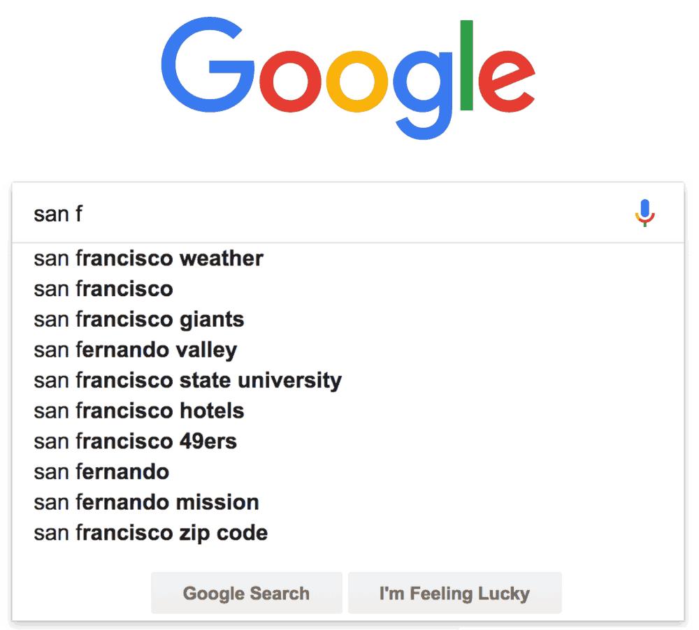 contoh google autocomplete