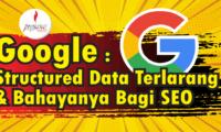 structured data terlarang